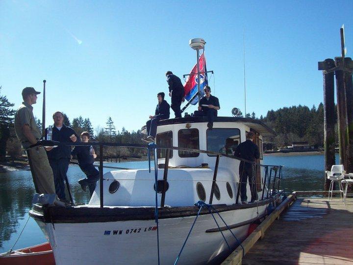 Boys on Boat